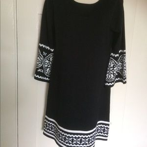 R & K Originals Aztec Design Knit Dress
